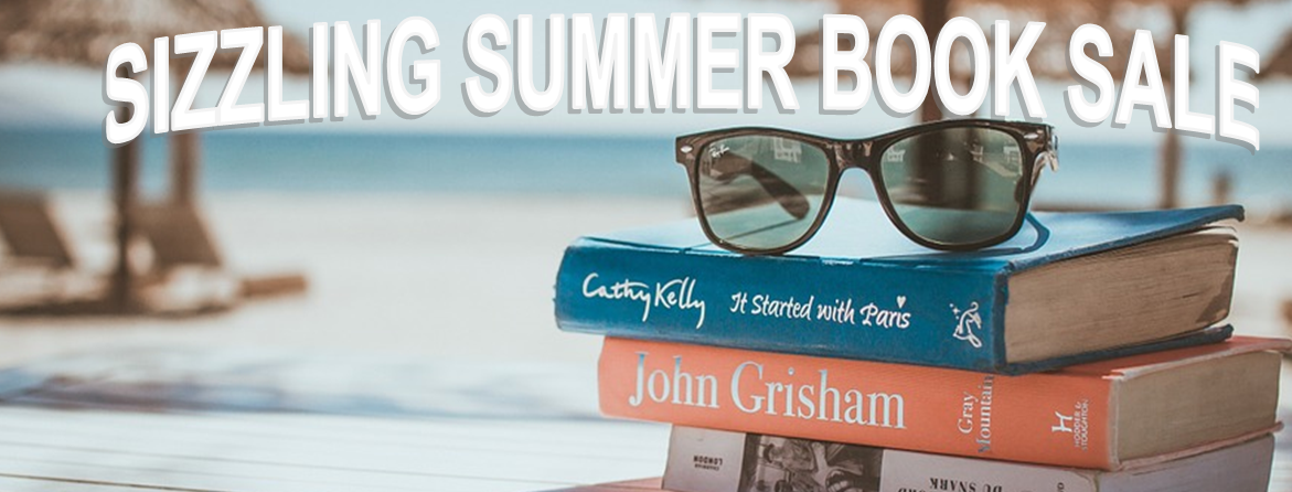 Sizzling Summer Book Sale Banner