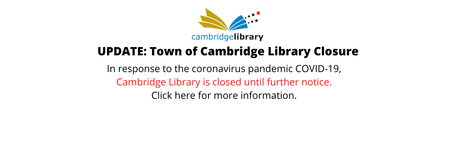 Town of Cambridge Library Closure.png